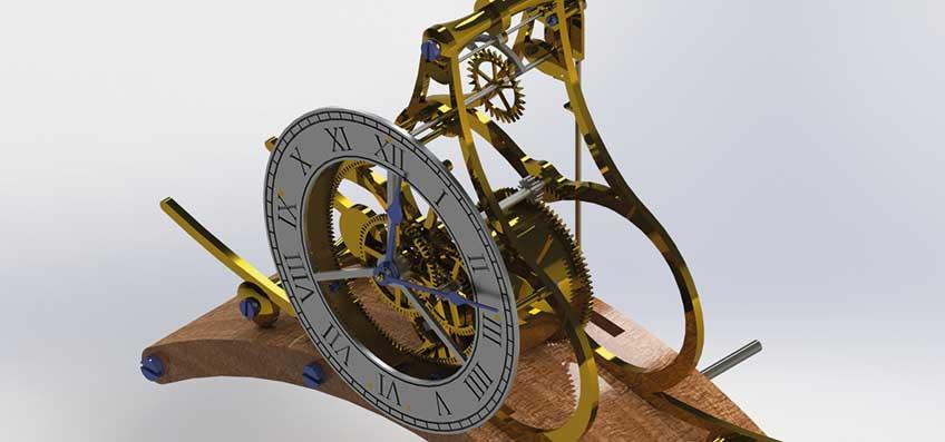 An epicyclic clock adventure