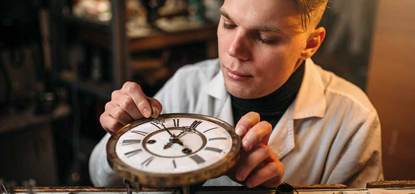 The clockmaker apprenticeship – your trade needs you