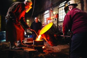 Saved by the Bell! – Britain's last traditional foundry handed a Lottery lifeline